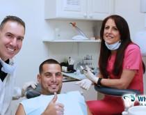 Satisfied dental patient at Whitehall Dental Associates
